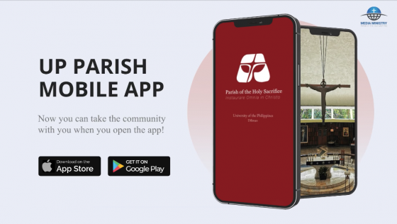 UP Parish launches its own app